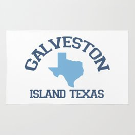 Galveston Texas. Rug