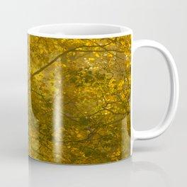 Forest in Fall Color Autumn Scene #decor #society6 #buyart Coffee Mug