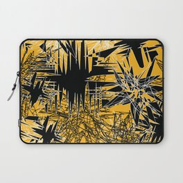 Yellow Chaos Laptop Sleeve