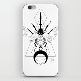 Monochrome Fruit Beetle iPhone Skin