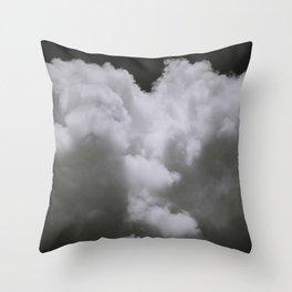 Night Clouds Throw Pillow