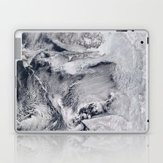 Sea Ice and Clouds in the Sea of Okhotsk Laptop & iPad Skin