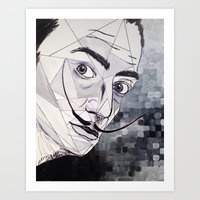dali Art Prints featuring Dali by Giovanna Diz Zurita Gallery