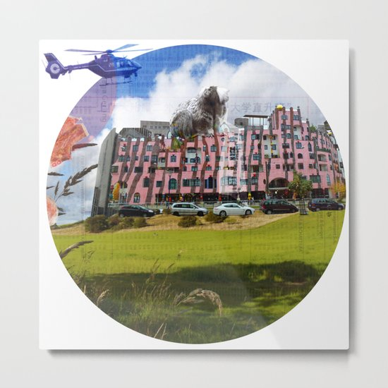 Surreal Living 29 · Crop Circle Metal Print