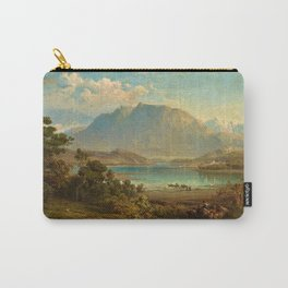 A view of Konigsee near Munich, Germany by Frederick Lee Bridell Carry-All Pouch
