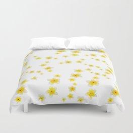 Common Frangipani watercolor Duvet Cover