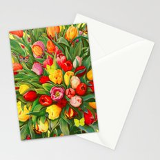 Tulip Bouquet Stationery Cards