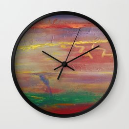 Edge Of The Storm Wall Clock