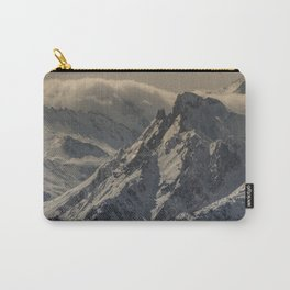 MOUNTAIN - RANGE - SNOW - PHOTOGRAPHY Carry-All Pouch