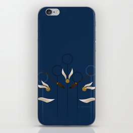 Catch the Snitch for Ravenclaw iPhone Skin