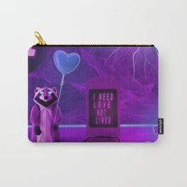 I need Love not Likes Carry-All Pouch