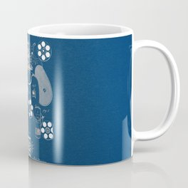 Revolver blue Patent Coffee Mug