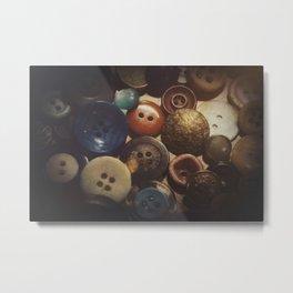 Button Club Metal Print