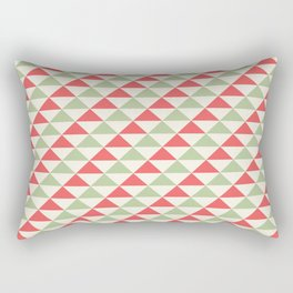Winter Hoidays Pattern #4 Rectangular Pillow