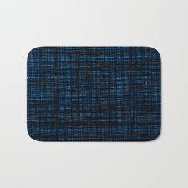 platno (black and blue) Bath Mat