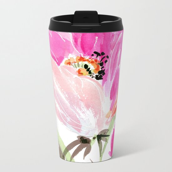tulip Metal Travel Mug