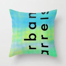 Urban Barrel Type Throw Pillow