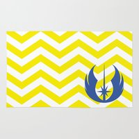 jedi Area & Throw Rugs featuring Star Wars Jedi Chevrons by foreverwars