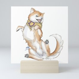 Intersex Pride Pupper Mini Art Print