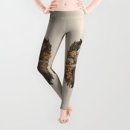 Friend Fox, Foe Fox Leggings