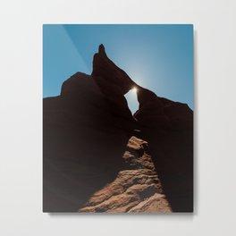 Arch Light Metal Print