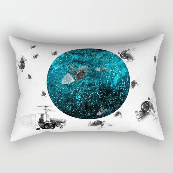 walk in space Rectangular Pillow