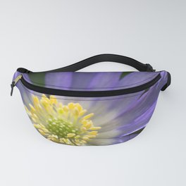 Blue Anemone Fanny Pack