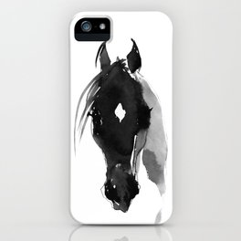 Horse (Star) iPhone Case