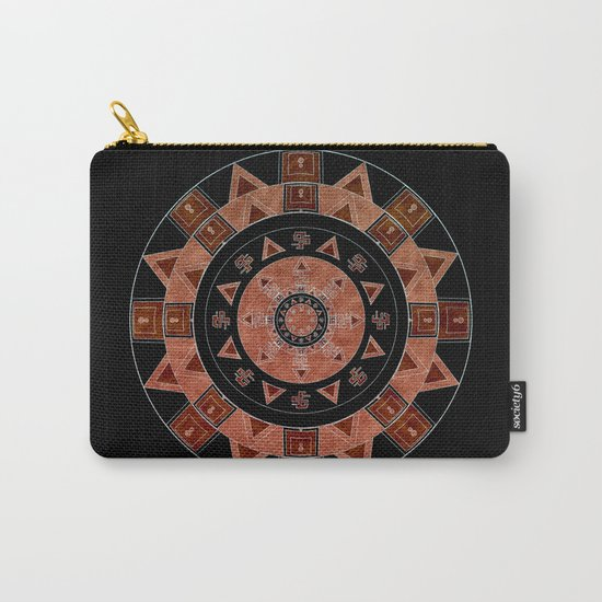 ethnic circle Carry-All Pouch