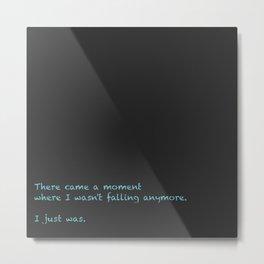 Moment Metal Print