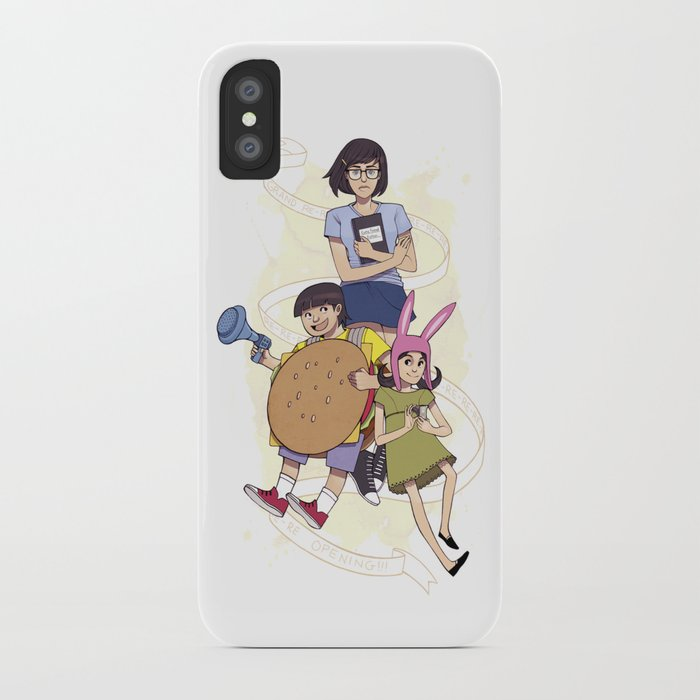 Bob S Burgers Iphone Case By Elizabethbealsprints Society6