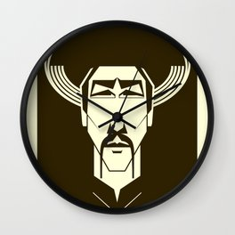 The World Shall Hear From Me Again! Wall Clock