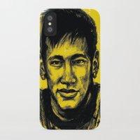 neymar iPhone & iPod Cases featuring Neymar by yamini