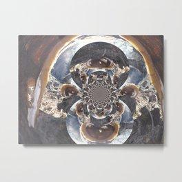 Inside The Tortoise Inversion Metal Print