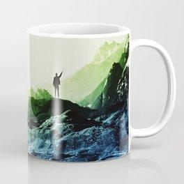 Blue Contact Coffee Mug