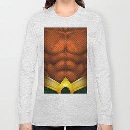 Aquaman: Superhero Art Long Sleeve T-shirt