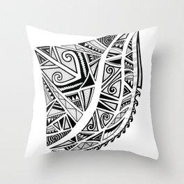 Cresting Wave Throw Pillow