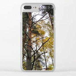 Forest Widerness In Autumn Clear iPhone Case