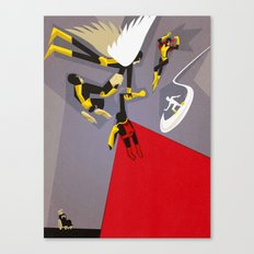 High X-Marks Canvas Print