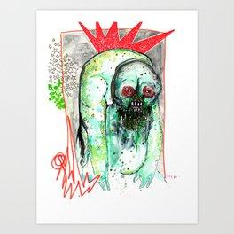The Dangerous Mongrel Art Print