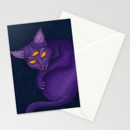 The Cat Who Lived in the Shadows Stationery Cards