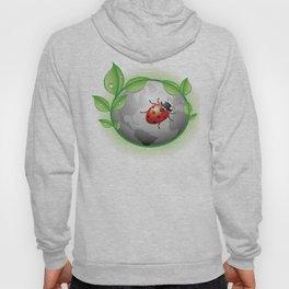 Earth Ladybird Illustration Hoody