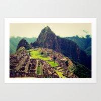 peru Art Prints featuring Peru by jamesrizzi