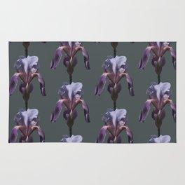 iris: shades of grey Rug
