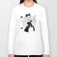 comic Long Sleeve T-shirts featuring Comic Love by Jasmin Darnell