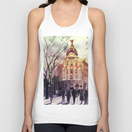 Madrid Unisex Tank Top
