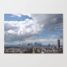 City Sky Canvas Print