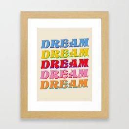 Everly Dream Framed Art Print