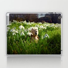 Amongst the Snowdrops Laptop & iPad Skin