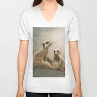 wonder V-neck T-shirts featuring Wonder... by Pauline Fowler ( Polly470 )